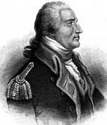 this is a drawing of Benedict Arnold,  an American hero... and traitor.