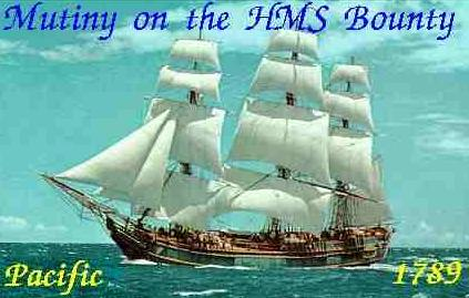 This is the Bounty, the boat that William Bligh commanded